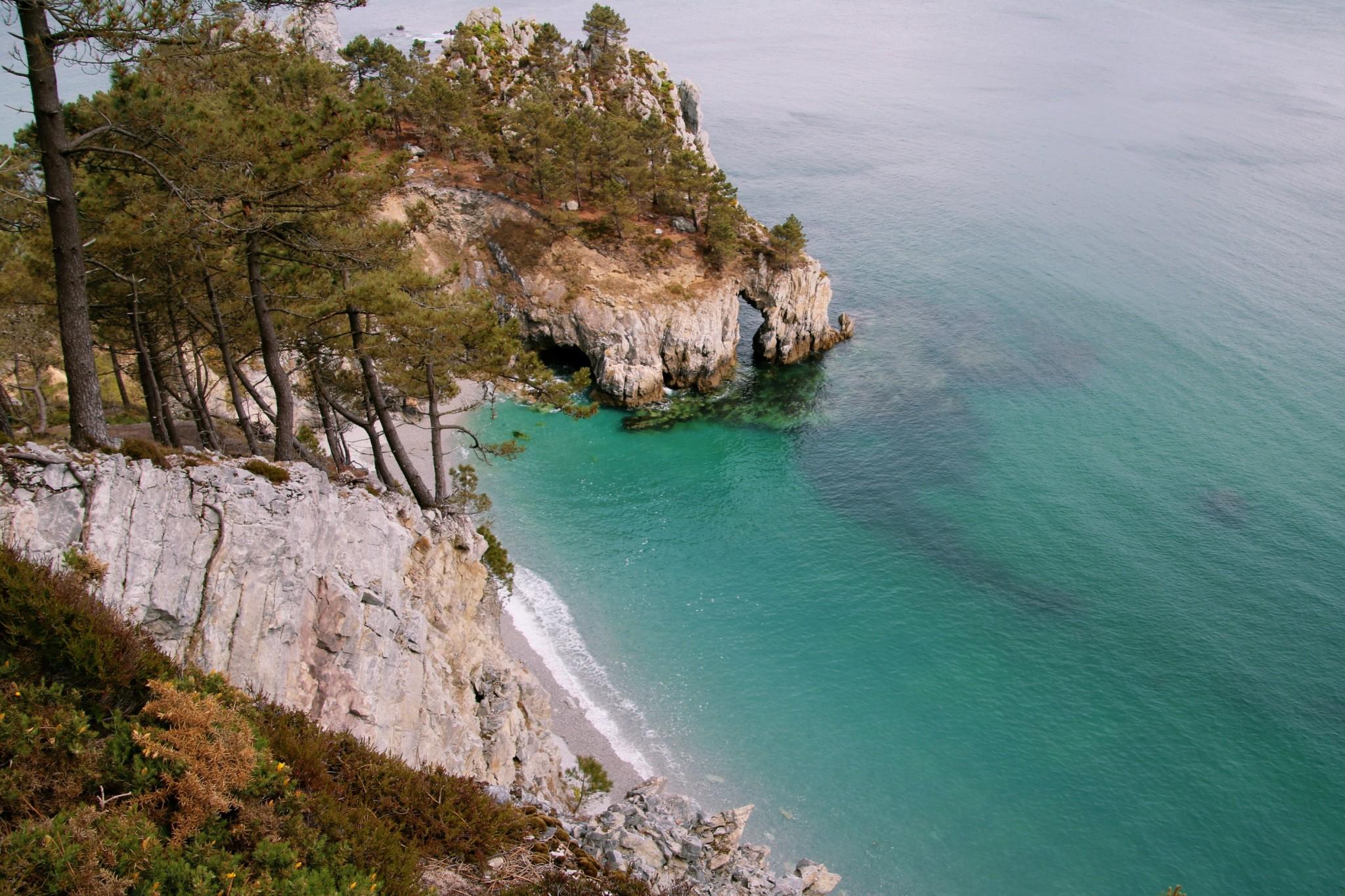 L'île vierge, sur la Presqu'île de Crozon