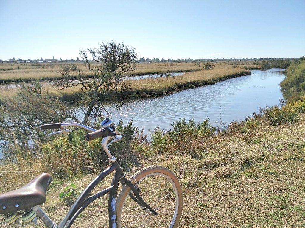 un tour de vélo sur l'île de ré