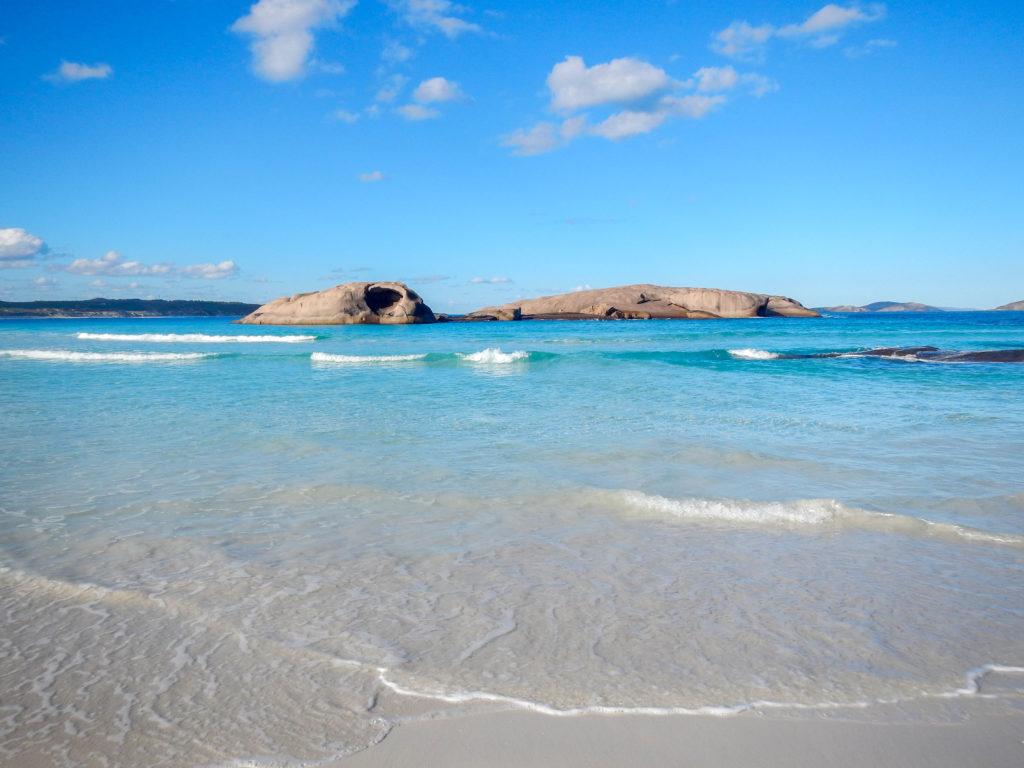 Twilight Beach à Esperance en Australie.