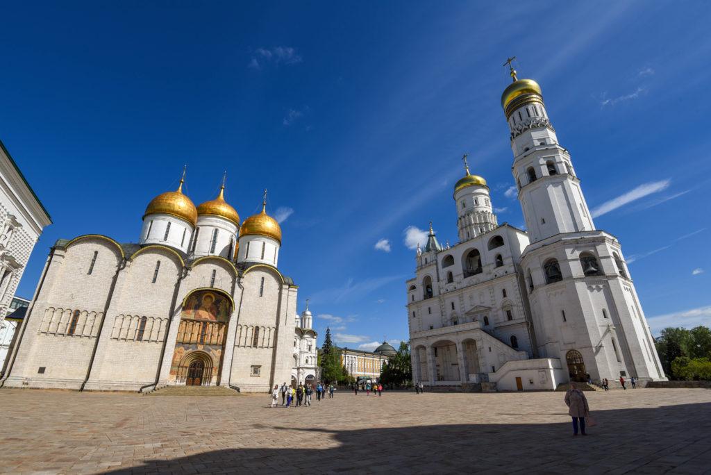 La place des Cathédrales dans le Kremlin