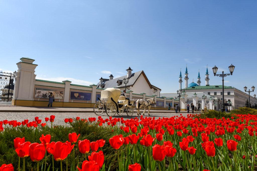 Dans le Kremlin de Kazan