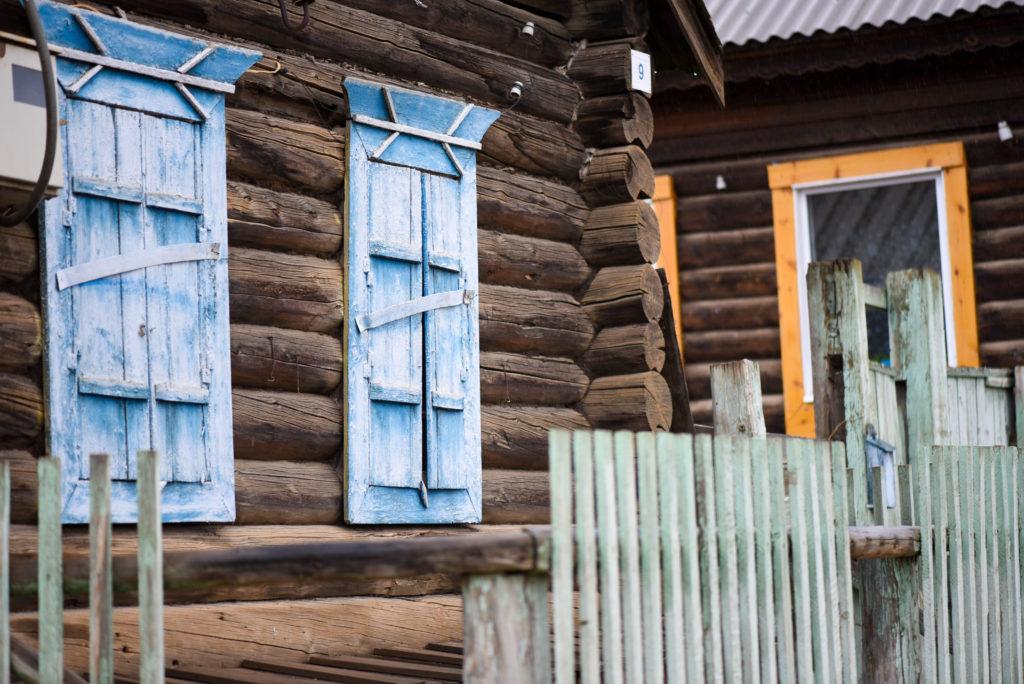 Les maisons des habitants de Sibérie @neweyes