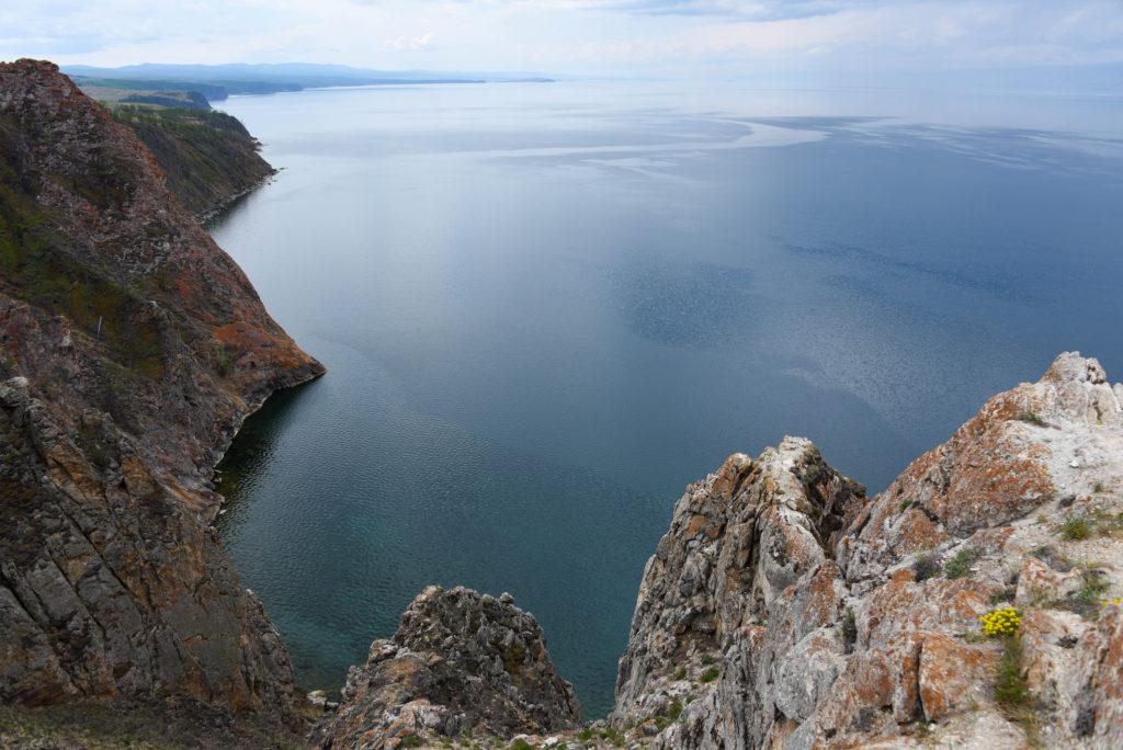 La vue du lac Baïkal depuis Khoujir @neweyes