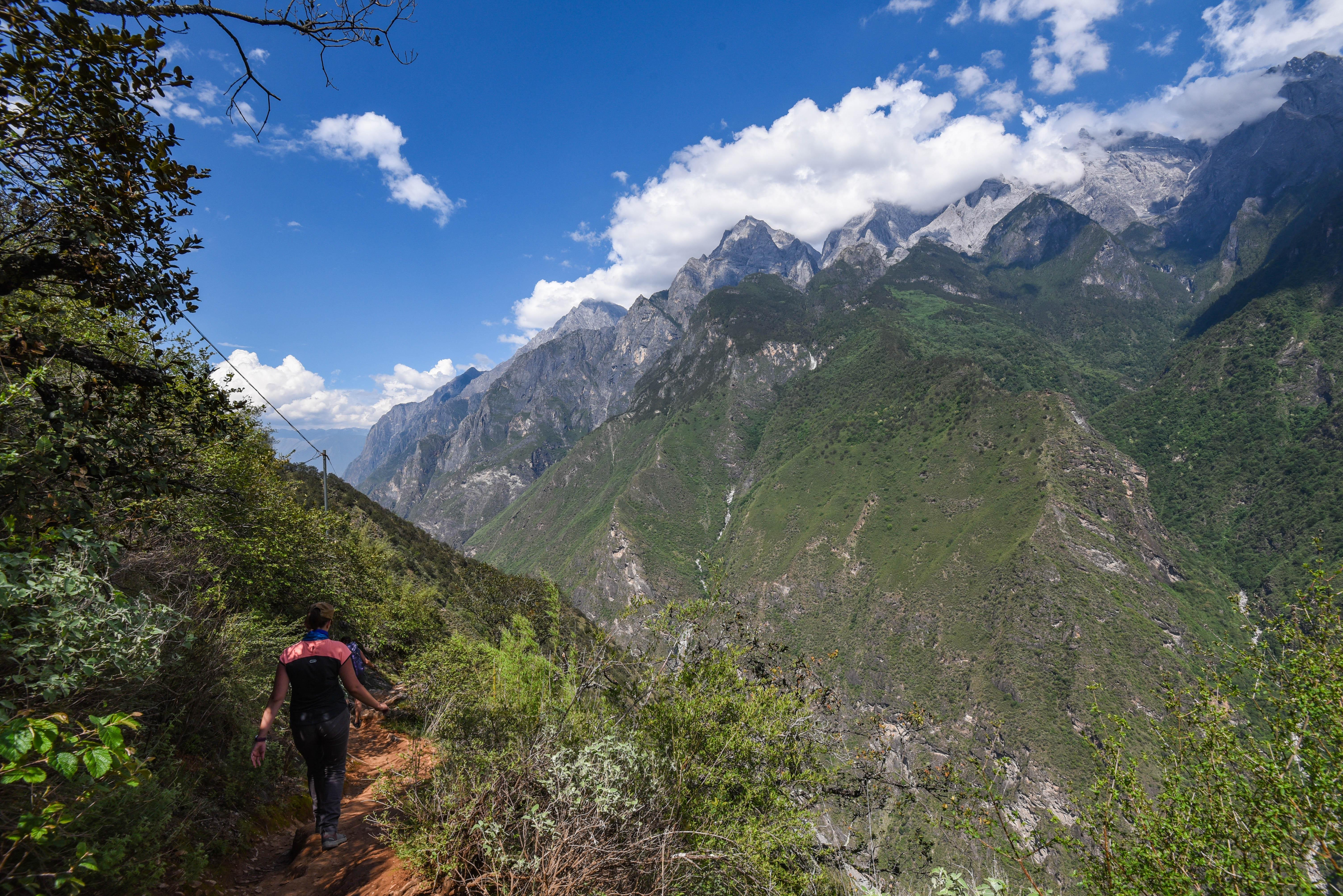 paysage de la randonnée