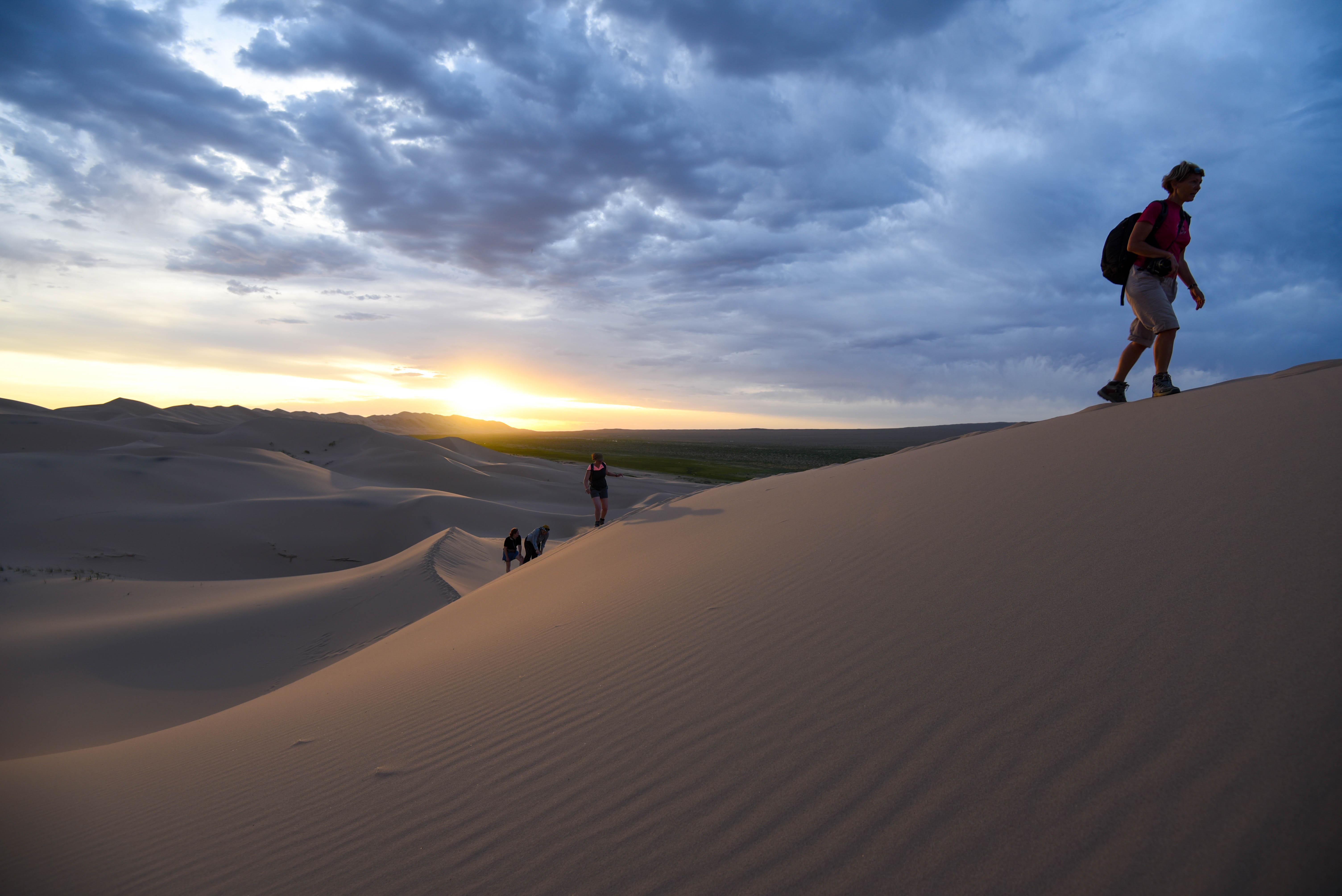 dunes de sable du désert