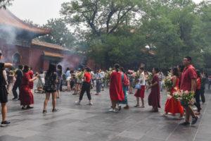 Rituel de prière à Pékin @neweyes