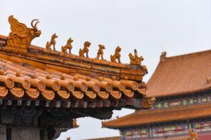 Les toits des palais de la Cité Interdite @neweyes