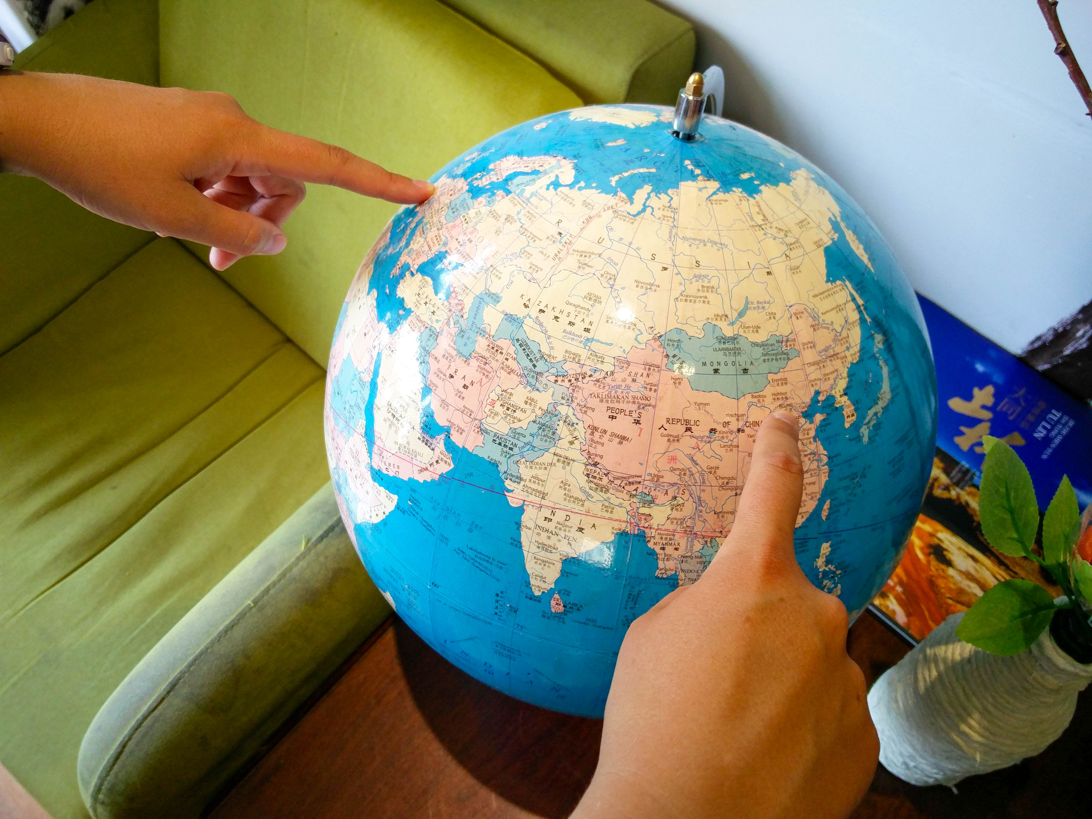 globe tour du monde neweyes