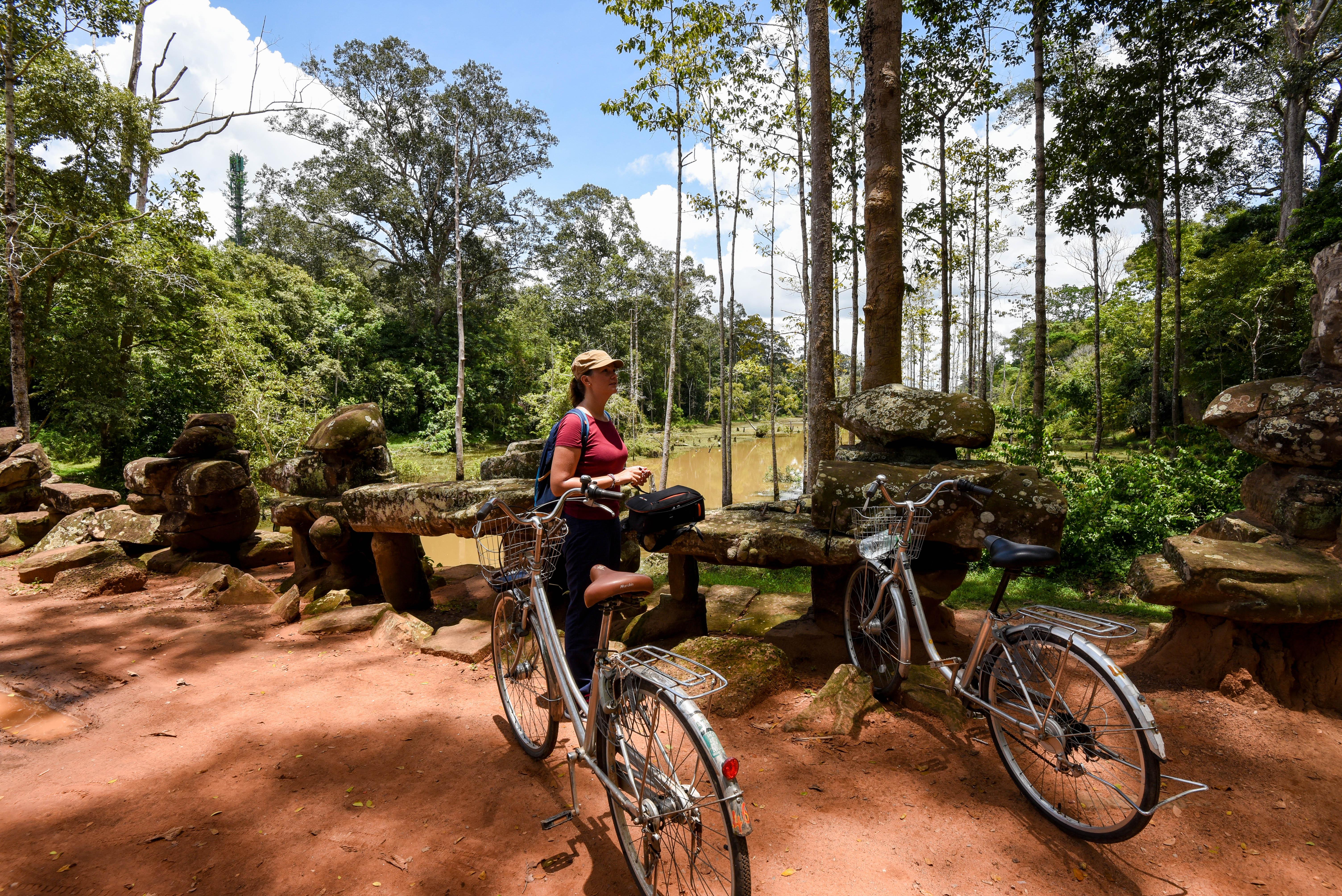 Le privilège d'être seuls avec le vélo ©neweyes