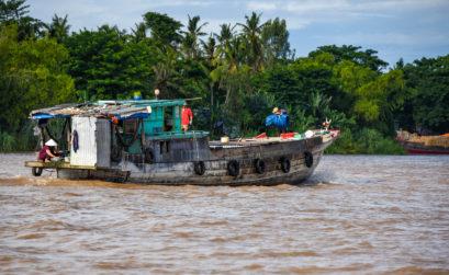 Arriver au Cambodge depuis le Vietnam, par le Mékong @neweyes