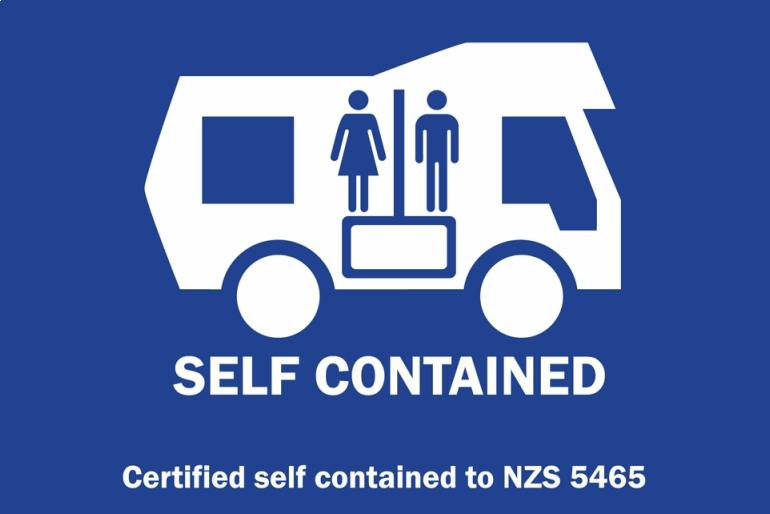 Pour un van Self contained en Nouvelle-Zélande