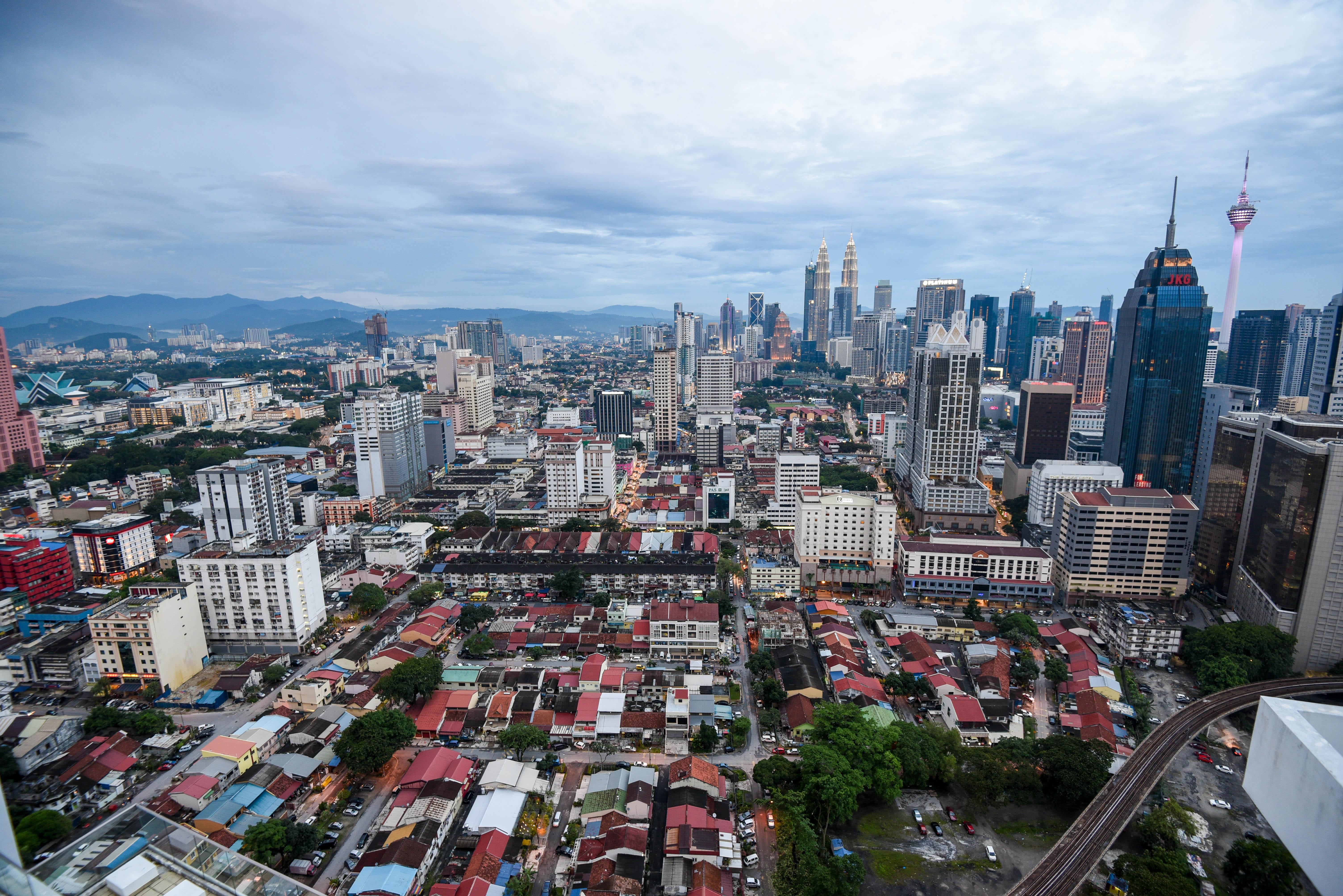 La vue de Kuala Lumpur, du 37ème étage @neweyes