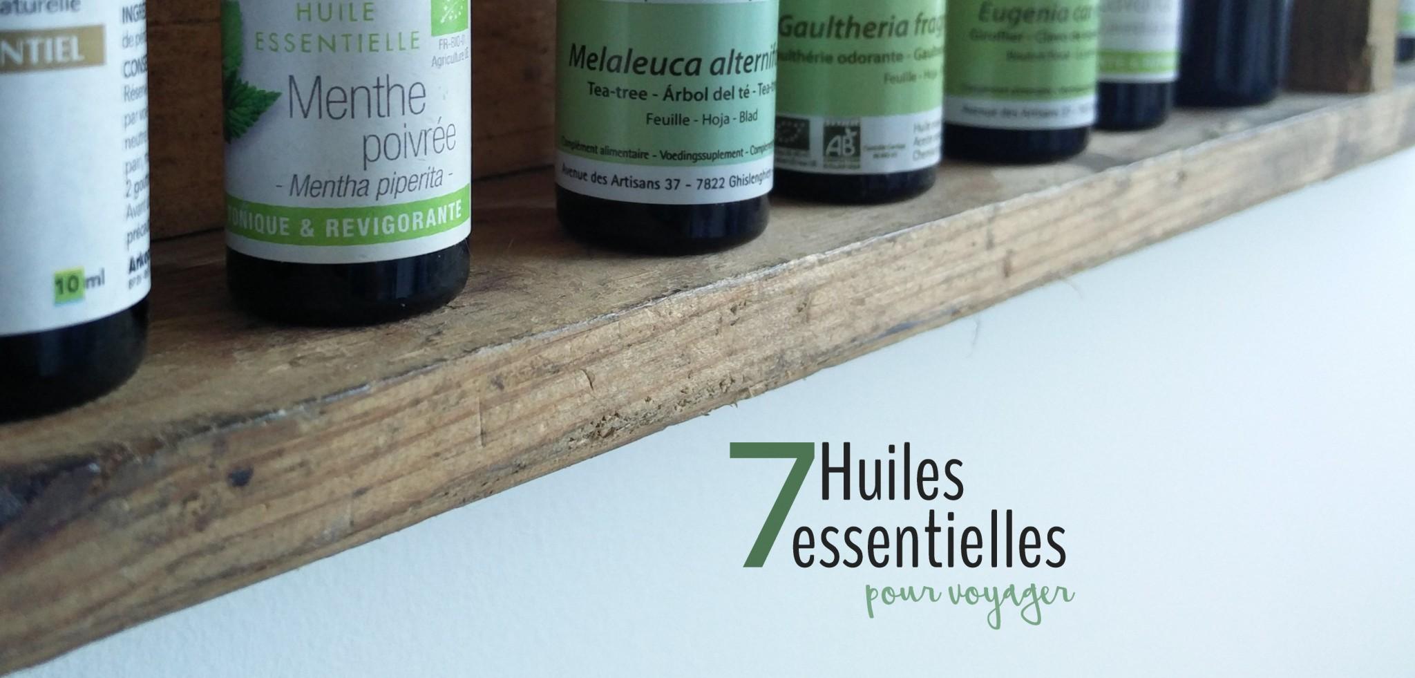 Les huiles essentielles dans la pharmacie