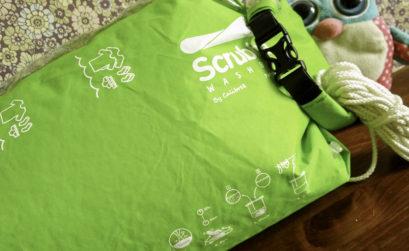 Le wash bag idéal pour laver notre linge en voyage
