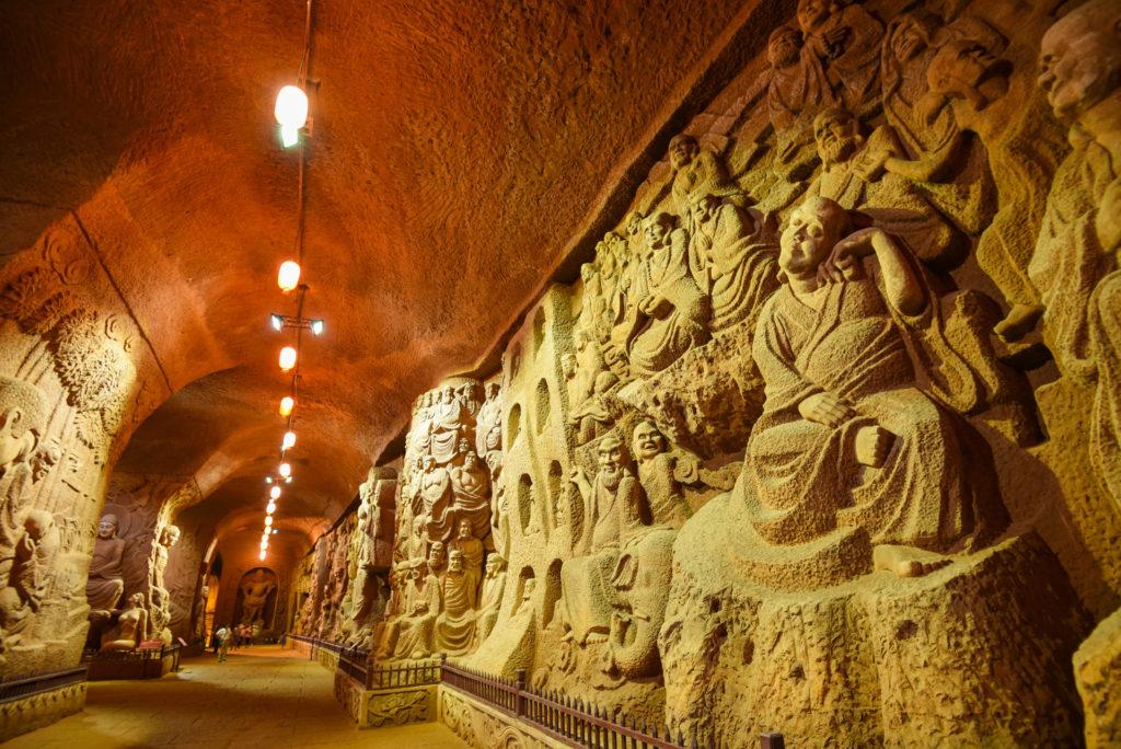 La visite de l'Oriental Buddha Capital