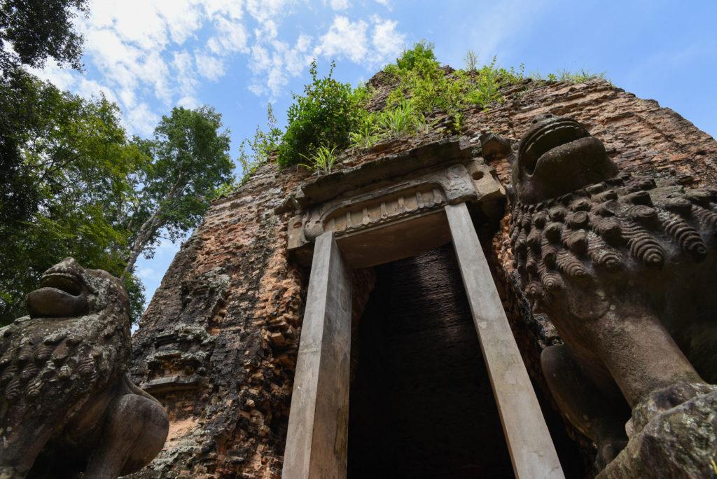 Unique en son genre, temple octogonal de Sambor Prei Kuk
