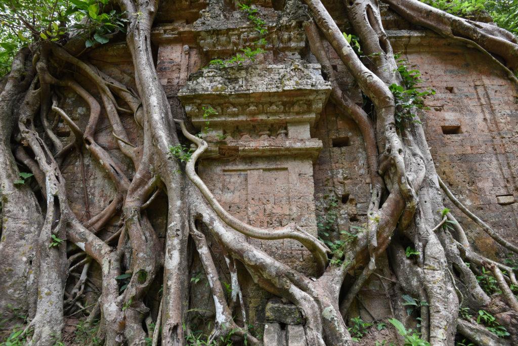 Un temple de Sambor Prei Kuk, Cambodge